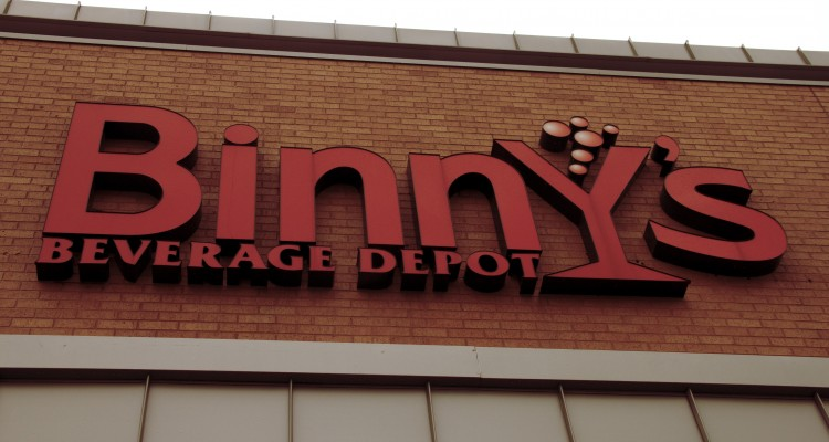 Best of CU's best place to buy liquor: Binny's in Champaign, IL. Photo by Liz Brinckerhoff