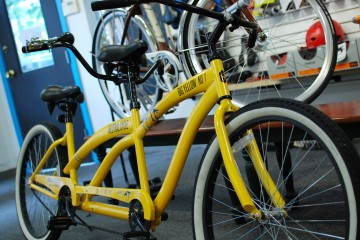 The Big Yellow Ride at Neutral Cycle. Champaign, IL. Photo by Diana Diggs