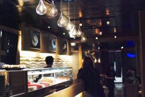 Stylish dining at Sakanaya Restaurant. Champaign, IL. Photo by Diana Diggs
