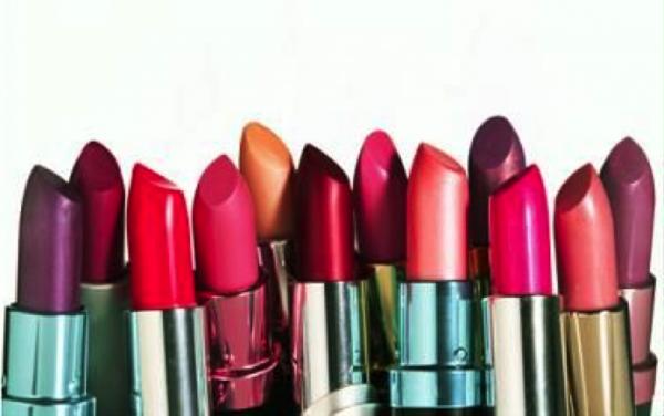 An assortment of lipsticks.