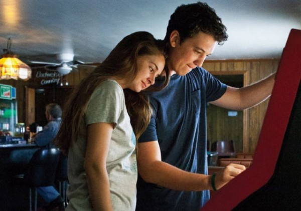 Shailene Woodley and Miles Teller in The Spectacular Now. used with permission from Fox Searchlight Pictures.