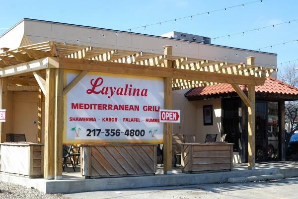 Layalina Mediterranean Grill in Champaign, IL. Photo by Alyssa Abay