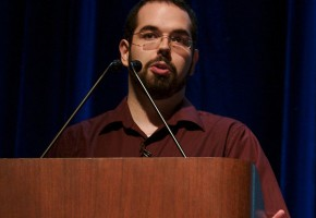 Eliezer Yudkowsky, co-founder of Less Wrong. Image courtesy of wikipedia.org