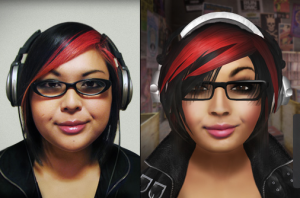 Example of a virtual avatar. Image courtesy of secondlife.com