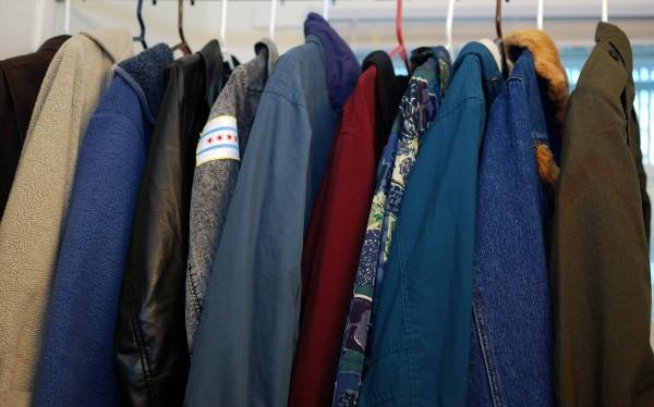 Fall jackets and winter coats. Photo by Alyssa Abay