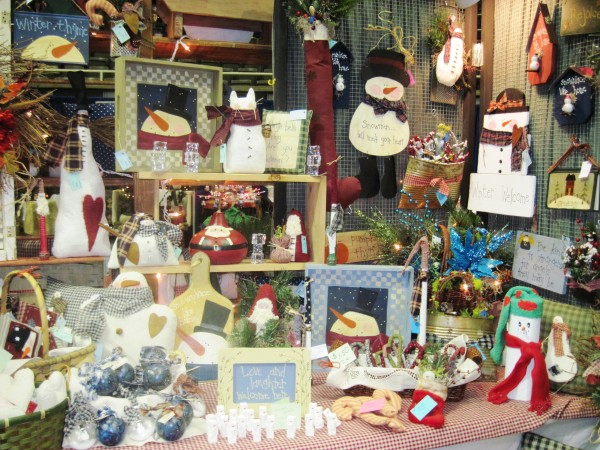 A festive display at last year's Chris Cringle Craft Show. Photo by Becky Smith