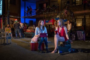 Carolyn Braver (left) and Caroline Neff (right) in Airline Highway. Photo by: Michael Brosilow.