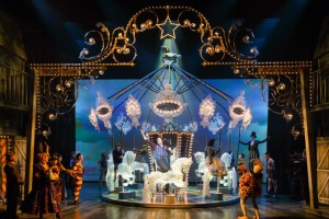 The ensemble of Stratford's production of Carousel. Photo by David Hou.