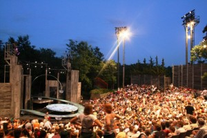 The Outdoor theater at the American Players Theatre. Photo by Carissa Dixon.